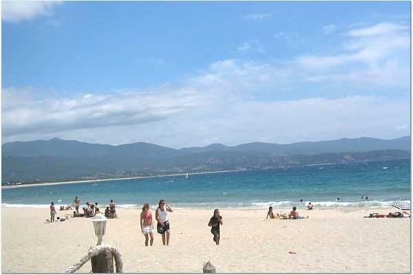 Beach on the Island of Corsica, Mediterranean Sea