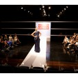 A model captures the judges and designers attention on Mission Catwalk Episode 5