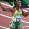 Shelly Ann Fraser-Pryce for the adidas Grand Prix