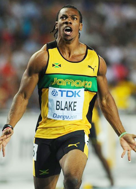 World Champion Yohan Blake will be at the adidas Grand prix